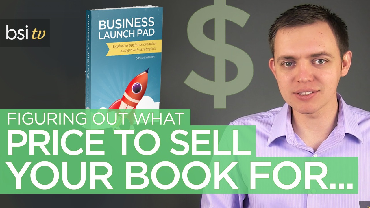 What Price Should You Sell Your Book For?