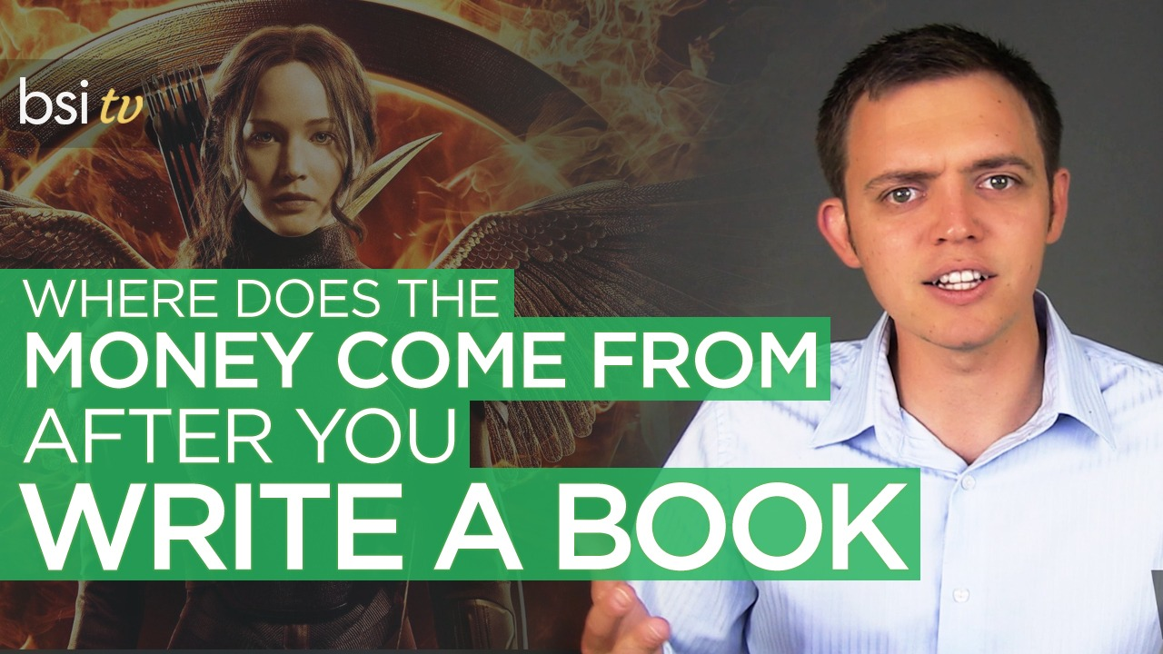 Where does the money come from when you write a book?