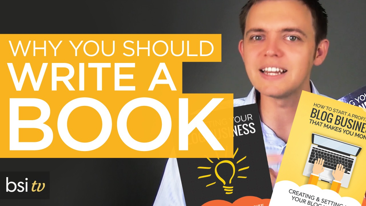 Why you should consider writing a book…