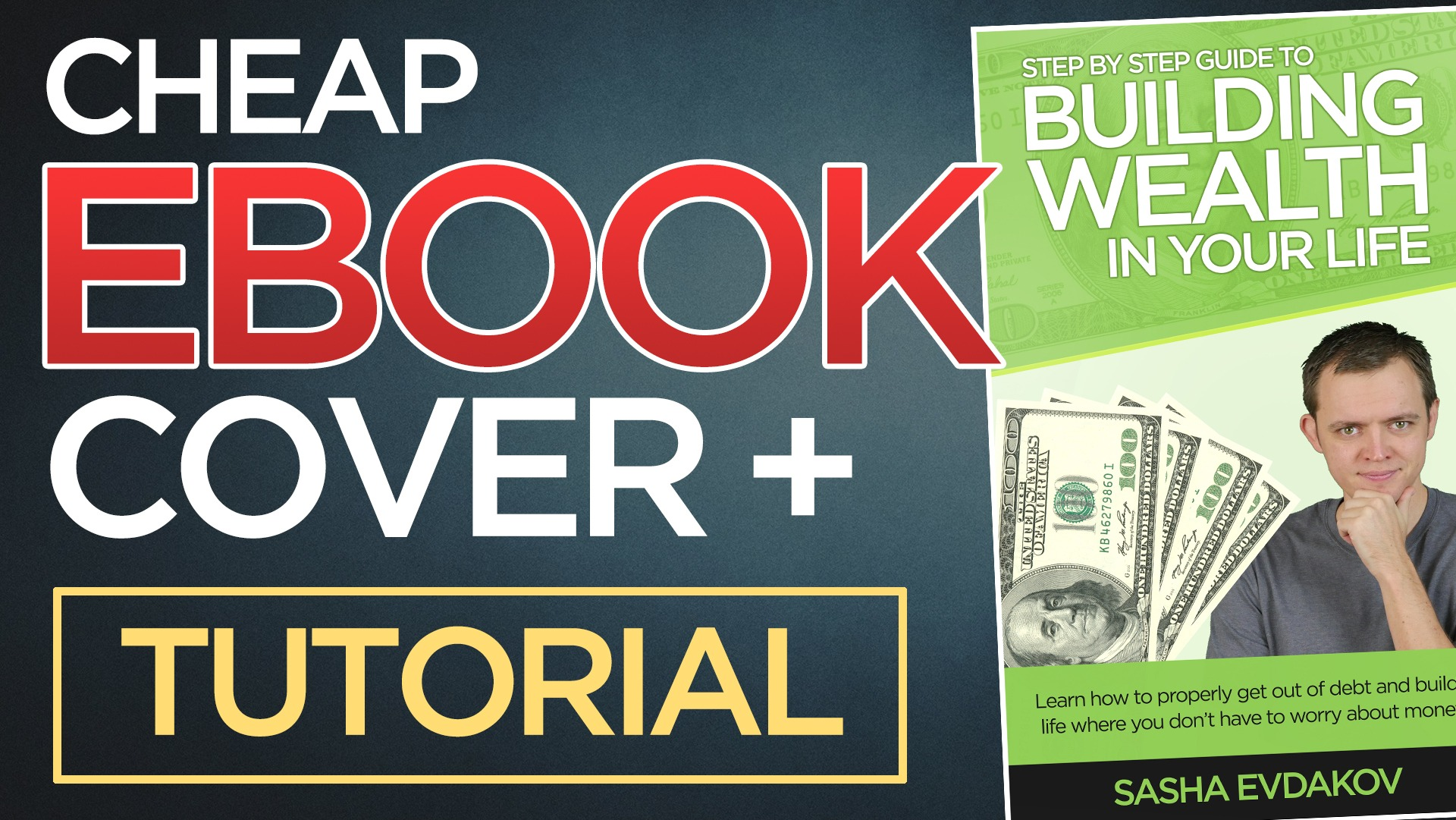 How to Get a Cheap or Low Cost eBook Cover + [Photoshop Tutorial]