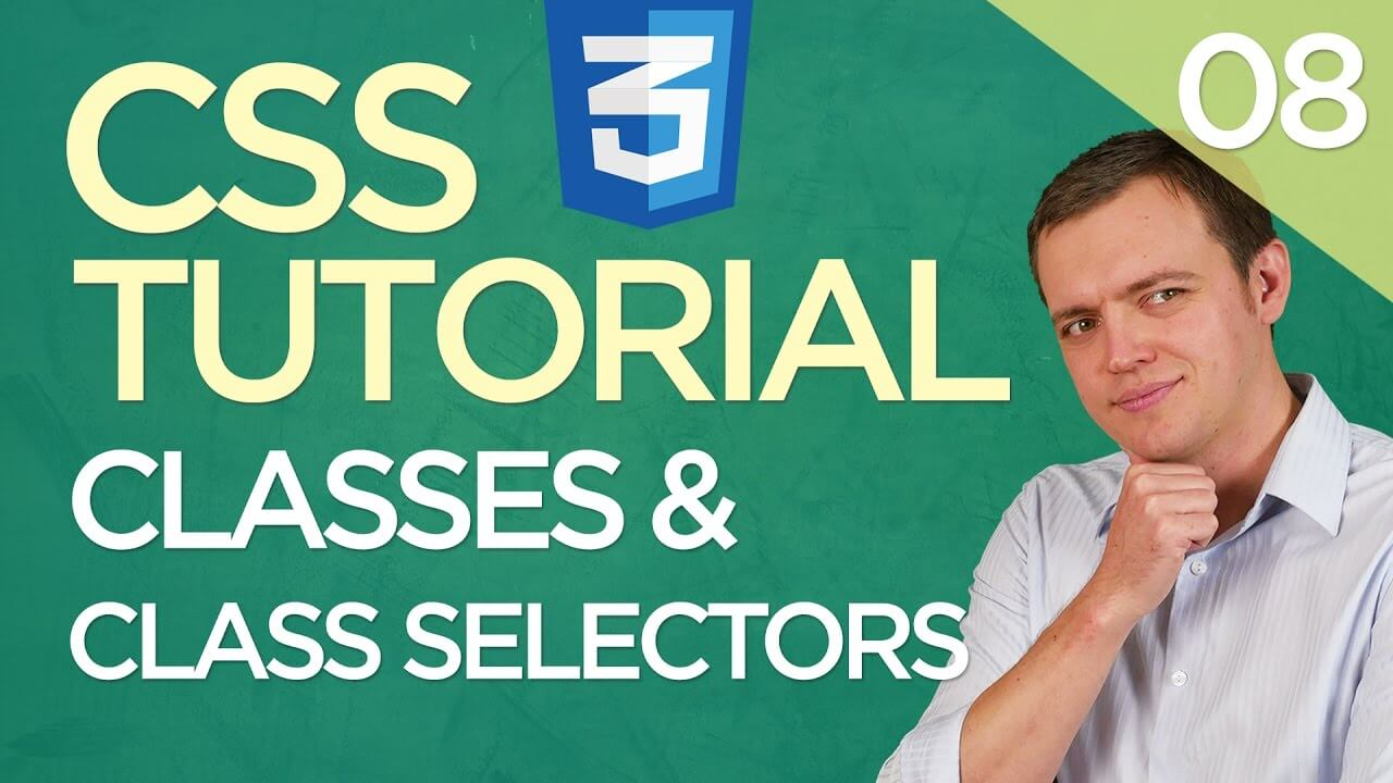 CSS3 Tutorial for Beginners: 08 Using CSS Classes & Class Selectors