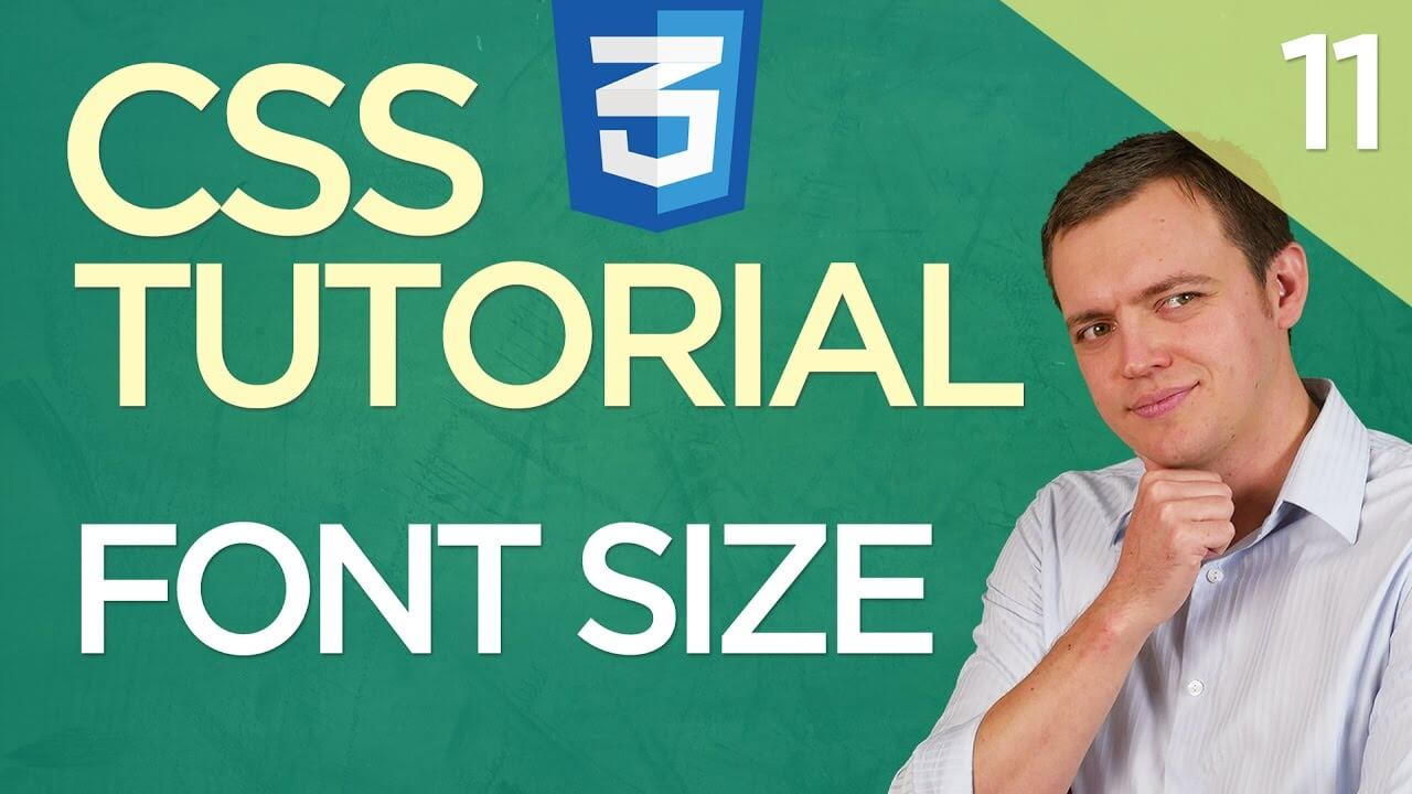 CSS3 Tutorial for Beginners: 11 Applying Font Size To a Body Element