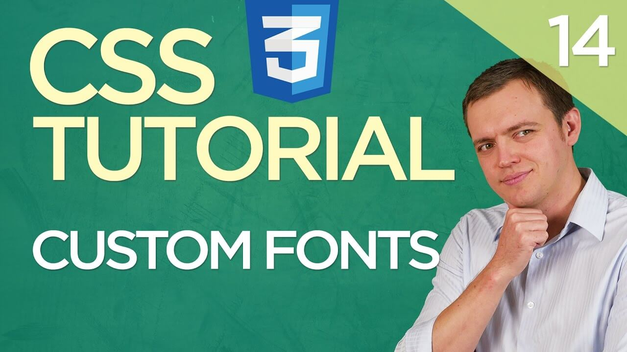 CSS3 Tutorial for Beginners: 14 How to Use a Custom Font Family With Google Fonts