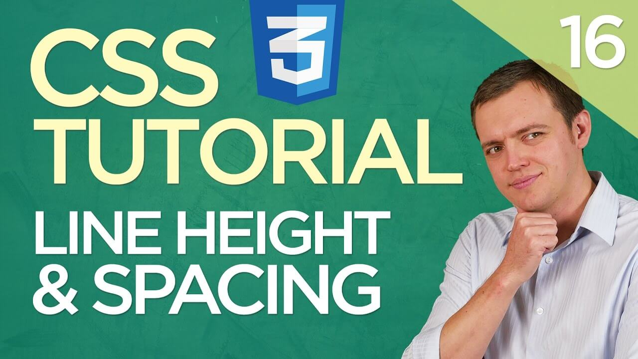 CSS3 Tutorial for Beginners: 16 Line Height and Line Spacing Property