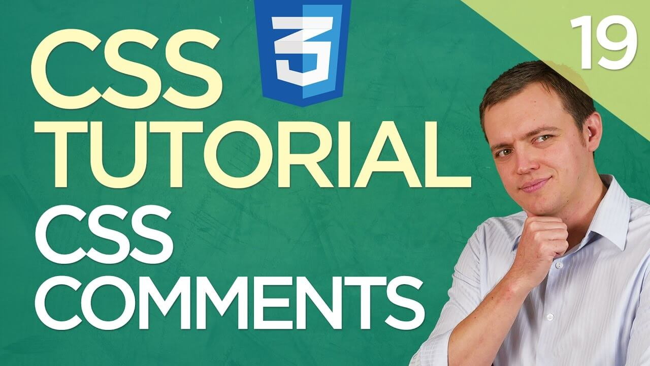 CSS3 Tutorial for Beginners: 19 Adding Comments in Your CSS Code