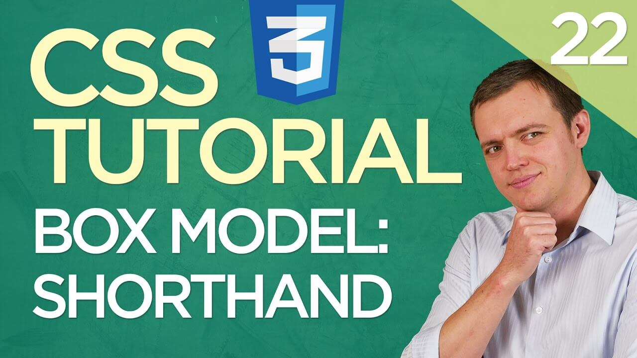 CSS3 Tutorial for Beginners: 22 CSS Box Model (Part 3) – Shorthand & Fast Code Writing