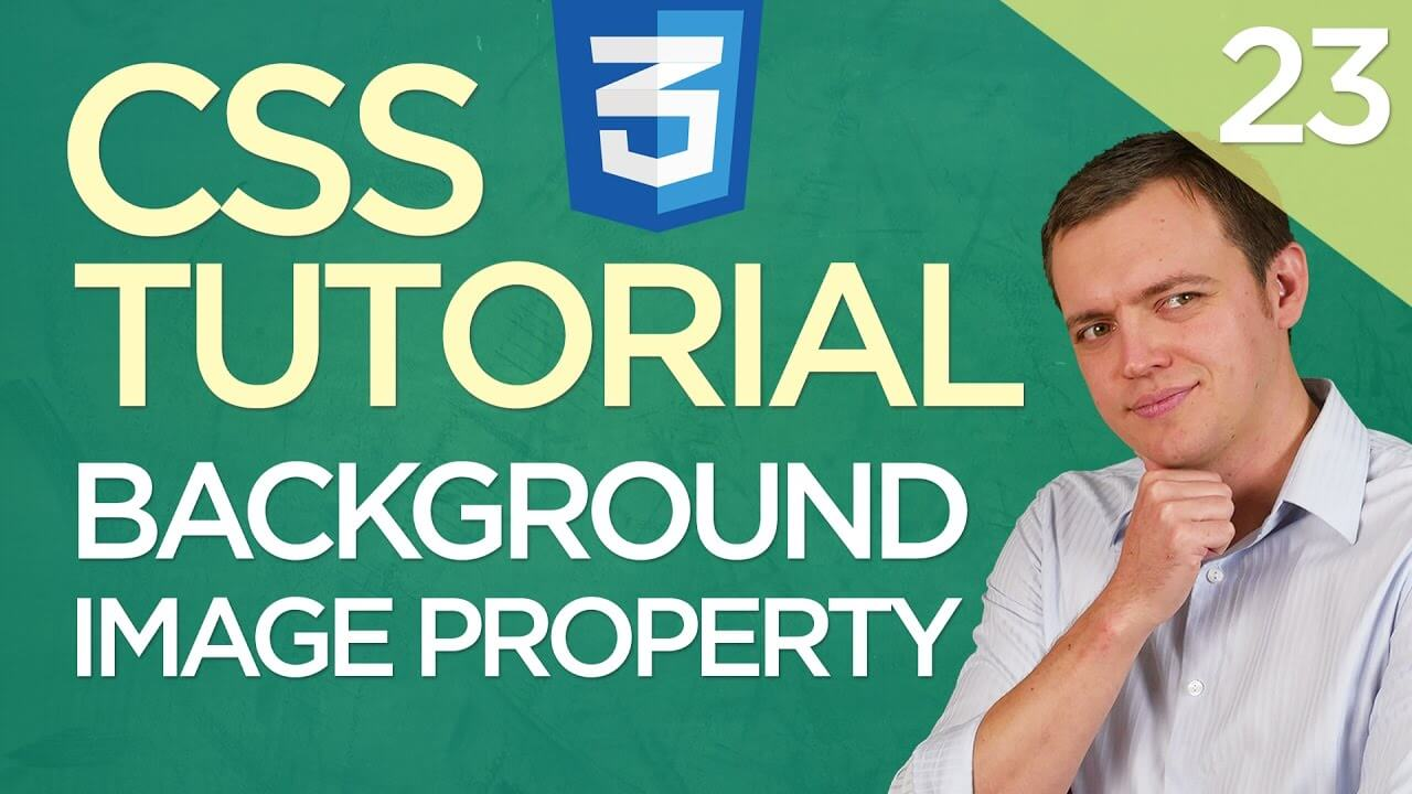 CSS3 Tutorial for Beginners: 23 Adding a Background Image Property