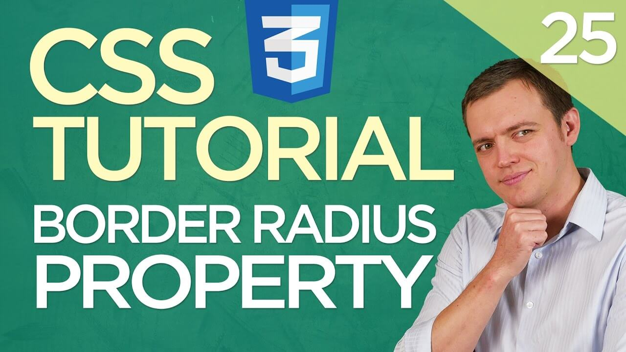 CSS3 Tutorial for Beginners: 25 Border Radius Property (Rounding Corners)
