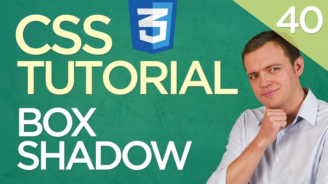 CSS3 Tutorial for Beginners: 40 Inserting A Box Shadow