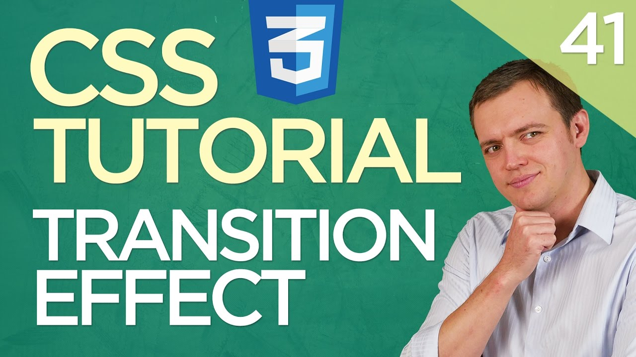 CSS3 Tutorial for Beginners: 41 Image Transition Effect