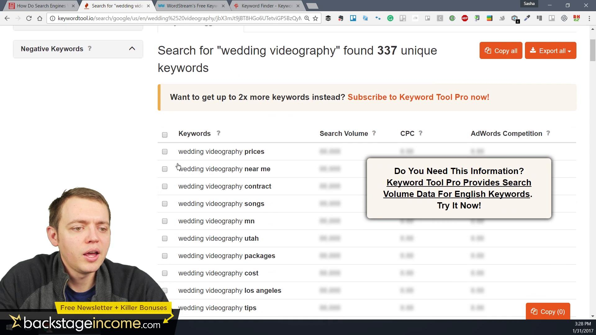 How to Generate a Massive List of Keywords: SEO for