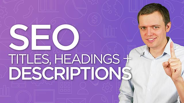 Writing Headings and Titles with SEO in Mind: SEO for Beginners Tutorial