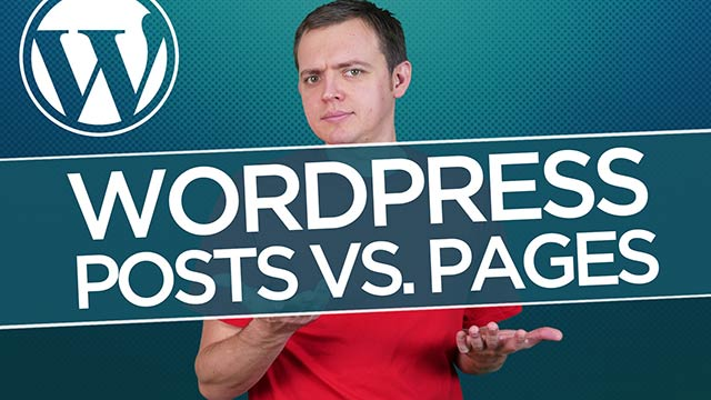 Posts vs. Page | Difference & When to Use Each: WordPress for Beginners Tutorial