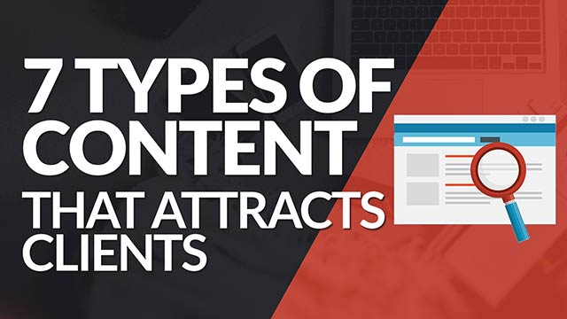 7 Types of Blog Content That Attracts More Clients! #BSI 20