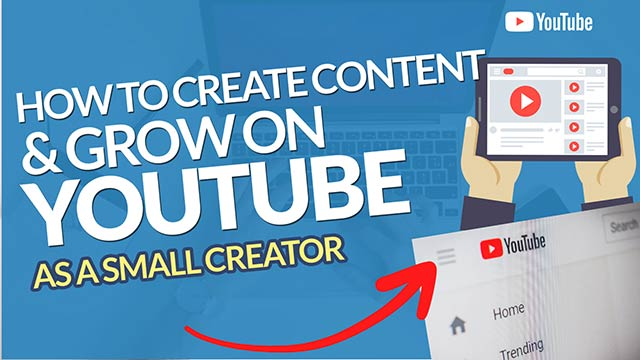 How to Create Your Content & Grow Your YouTube Channel When You are a Small YouTuber #BSI 29