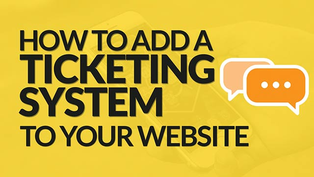How to Add a Help Desk / Ticketing System to Your Website (Teamwork) #insideBSI 3