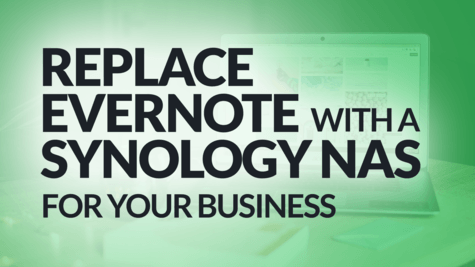 How a Synology NAS Can Replace Evernote for Your Business (Alternative) #BSI 42