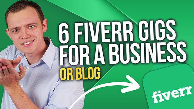 Top 6 Fiverr Gigs if You are Just Starting an Online Business or Blog #BSI 46