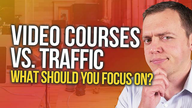 Create an Online Video Course First vs Focusing on Traffic? #BSI 50