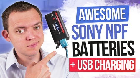 Awesome Sony NPF Batteries with USB Charging by Kastar + Powerbank Alternative