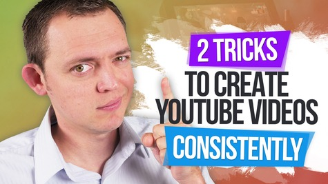 2 TRICKS to Create YouTube Videos Consistently & Never Miss a Week