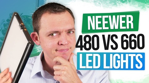 Neewer 480 vs Neewer 660 LED Lights – When Do You Need the 660
