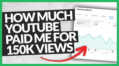 Here's How Much YouTube Paid Me for a Video that Has 150K+ Views?