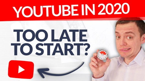 Too Late to Start a YouTube Channel in 2020?