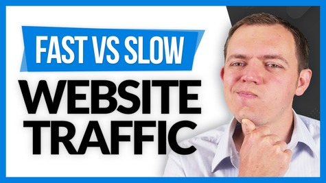 Fast Website Traffic vs Slow Website Traffic?