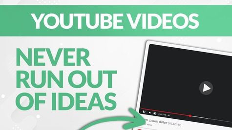 How to NEVER Run Out of Ideas to Make YouTube Videos