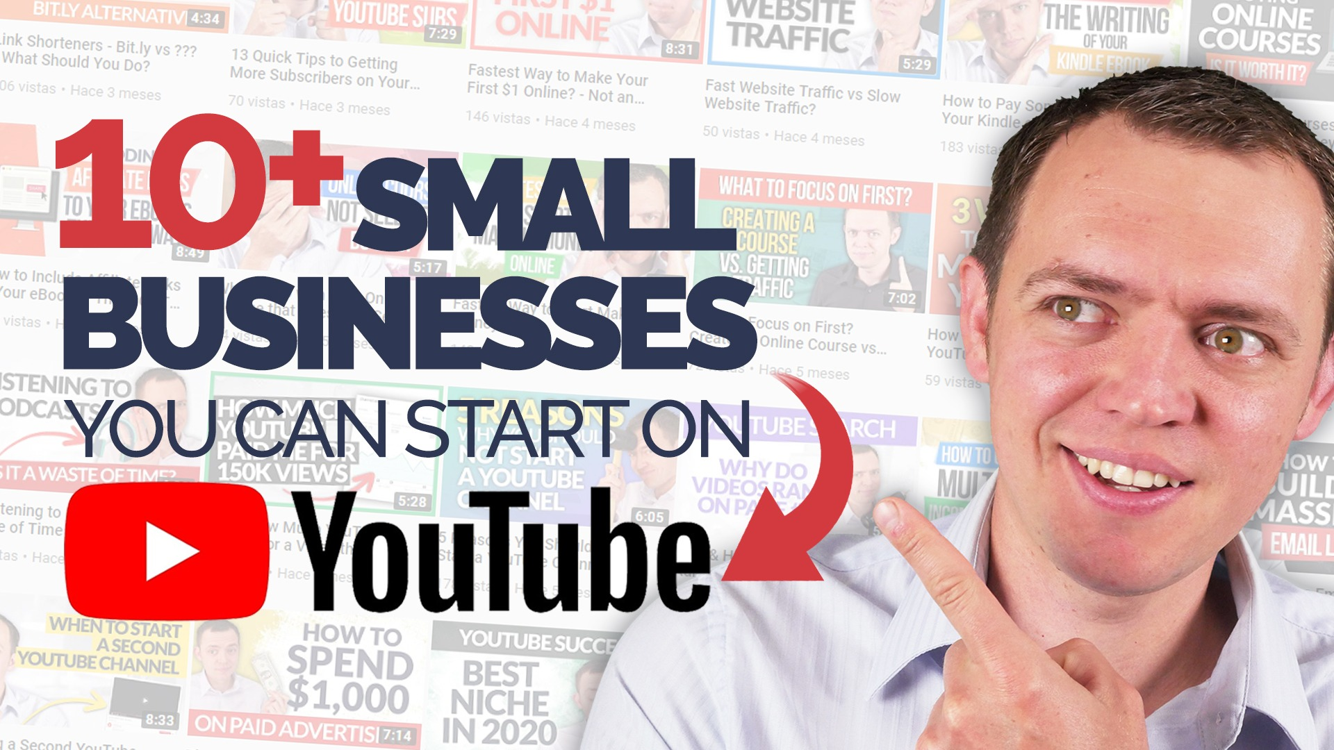 10+ Small Businesses You Can Start on YouTube