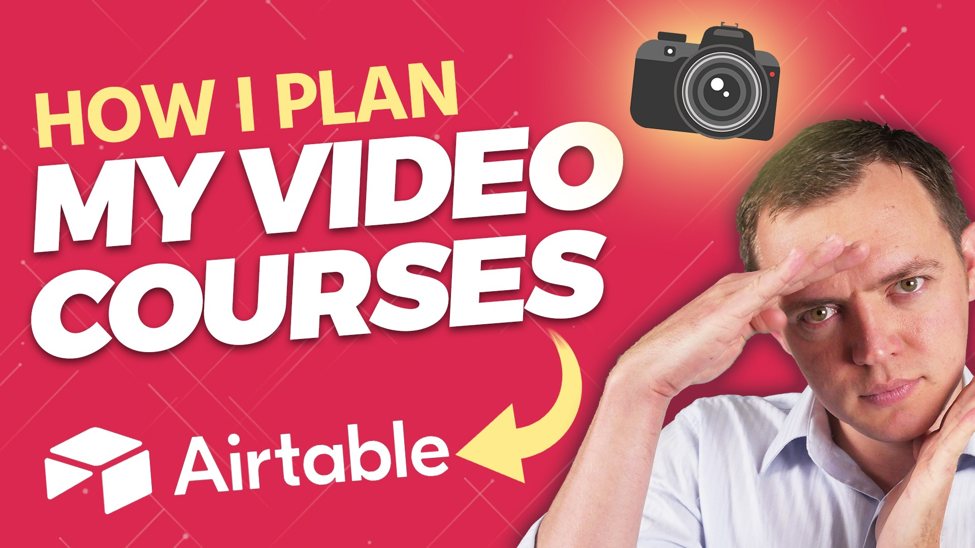 How I Plan My Online Video Courses Using Airtable…