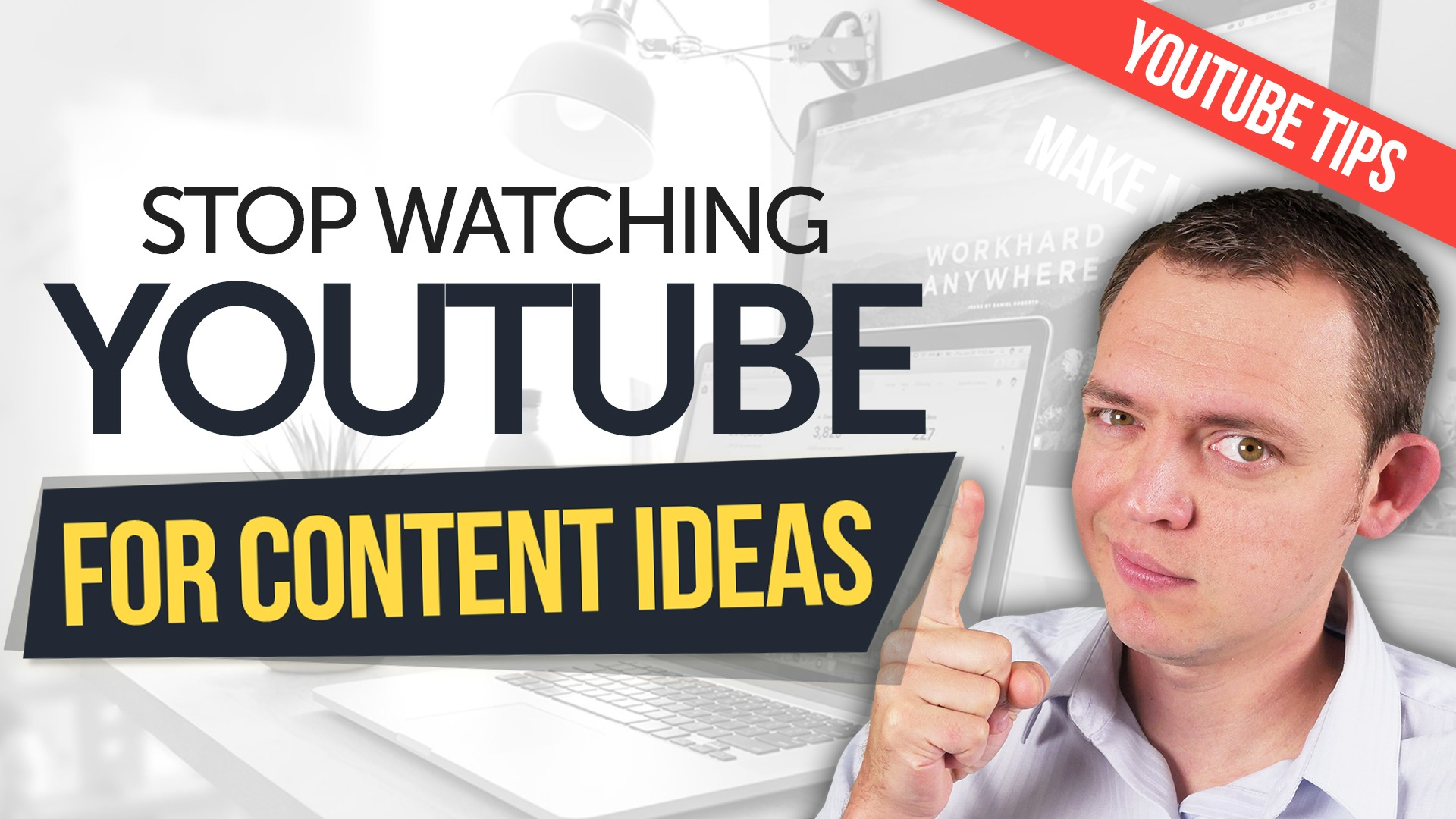 Why You Should STOP Watching + Scanning YouTube for Content Ideas