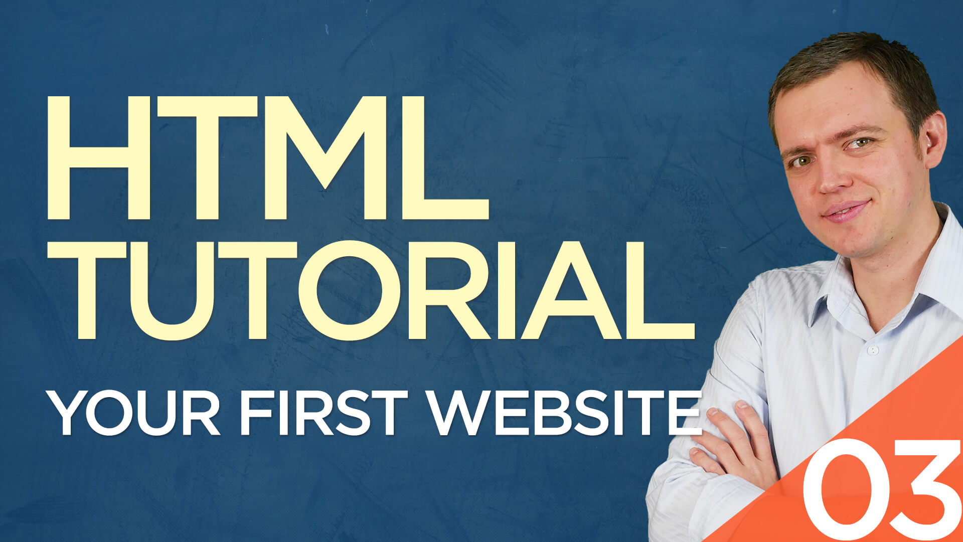 HTML Tutorial for Beginners: 03 Creating Your First Website with HTML