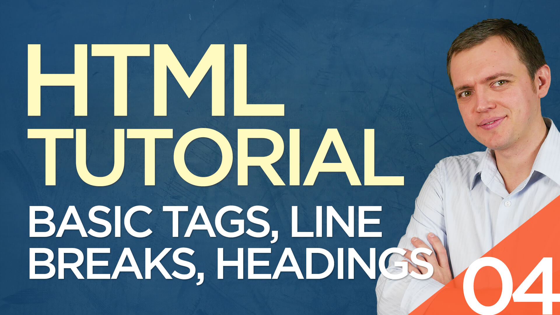 HTML Tutorial for Beginners: 04 Basic Tags, Line Breaks, Heading Tags, P Tags, & Non Breaking Spaces