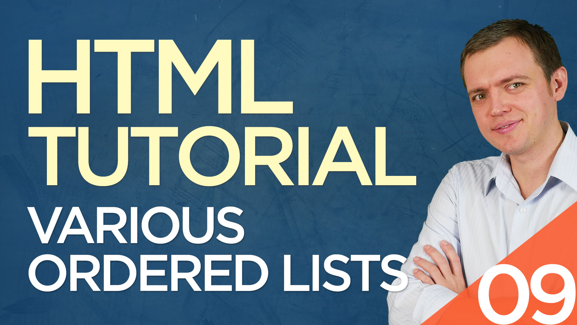 HTML Tutorial for Beginners: 09 Various Types of Ordered Lists (Roman Numerals)