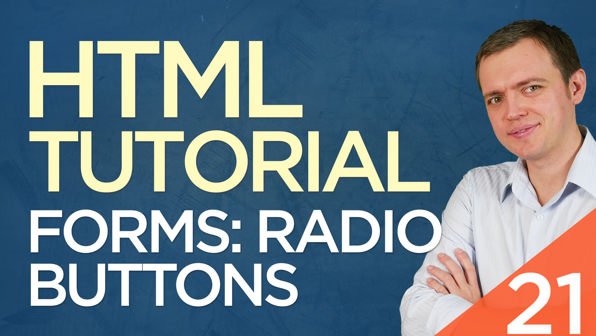HTML Tutorial for Beginners: 21 Radio Buttons Form Field
