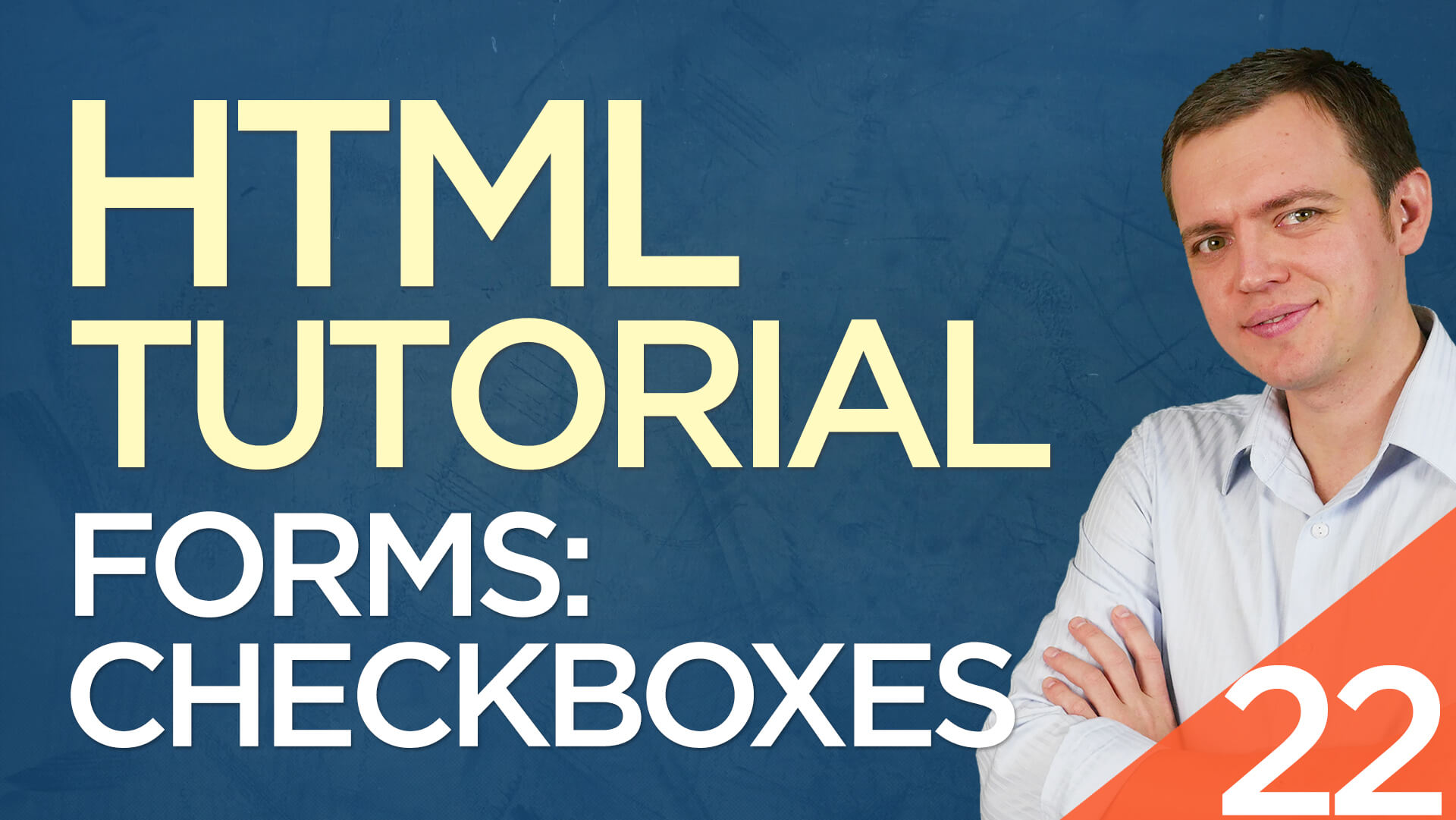 HTML Tutorial for Beginners: 22 Checkboxes Form Field