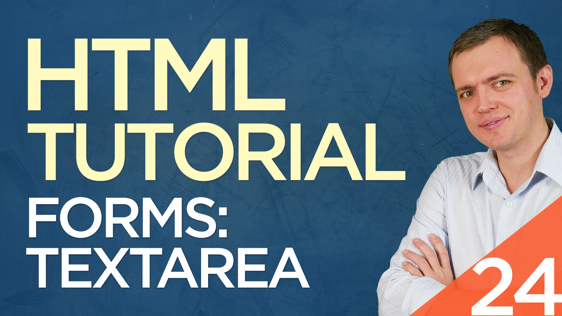 HTML Tutorial for Beginners: 24 Textarea Box / Multiline Input Form Field