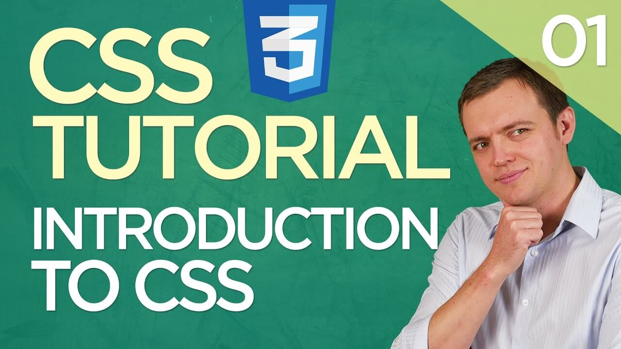 CSS3 Tutorial for Beginners: 01 Introduction to CSS & What Tools You Need