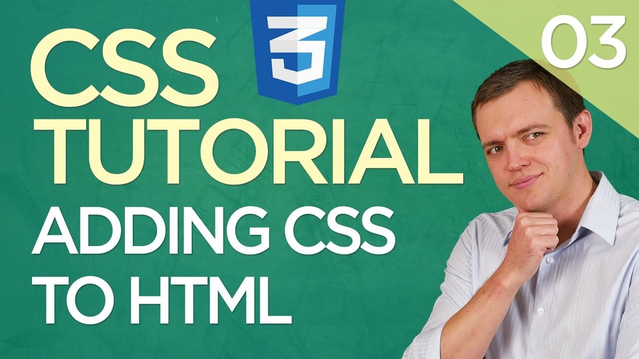 CSS3 Tutorial for Beginners: 03 3 Ways To Add CSS To Your HTML Code