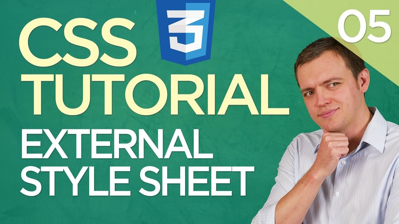 CSS3 Tutorial for Beginners: 05 Linking External Style Sheet To Multiple Page