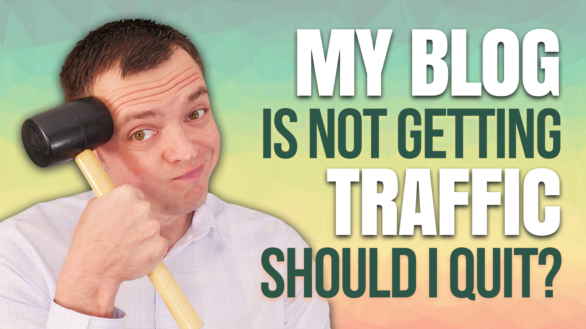 My Sports or News Blog is Not Getting Traffic – Should I Quit?