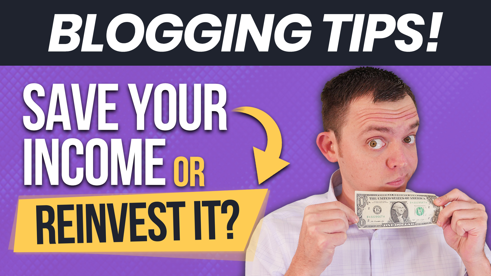 Save Your Blog Income or Reinvest the Profits for Growth